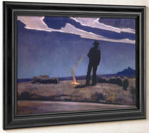 Roadside By Maynard Dixon