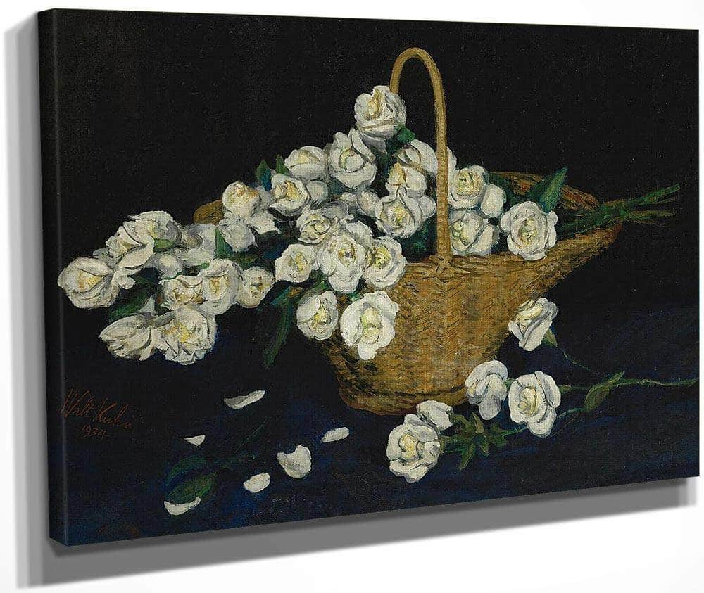 Rose Basket By Walt Kuhn