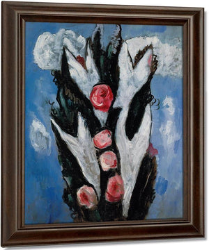 Roses By Marsden Hartley
