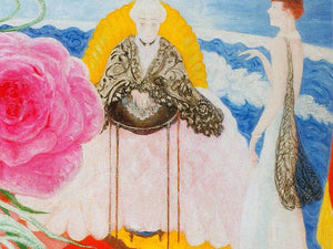 Rosetta Mother And Carrie Family Portrait By Florine Stettheimer