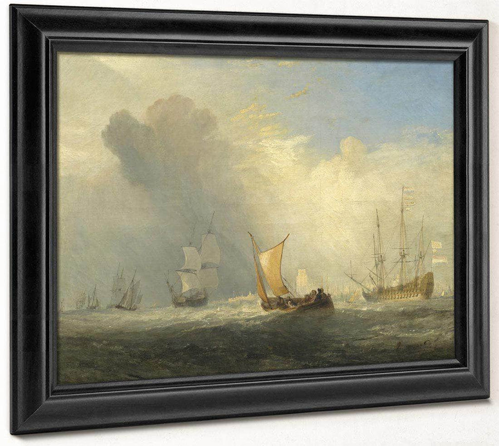 Rotterdam Ferry Boat By Joseph Mallord William Turner