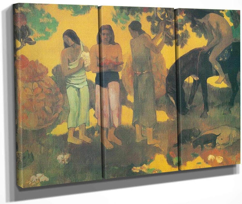 Ruperupe (Gathering Fruit) By Paul Gauguin
