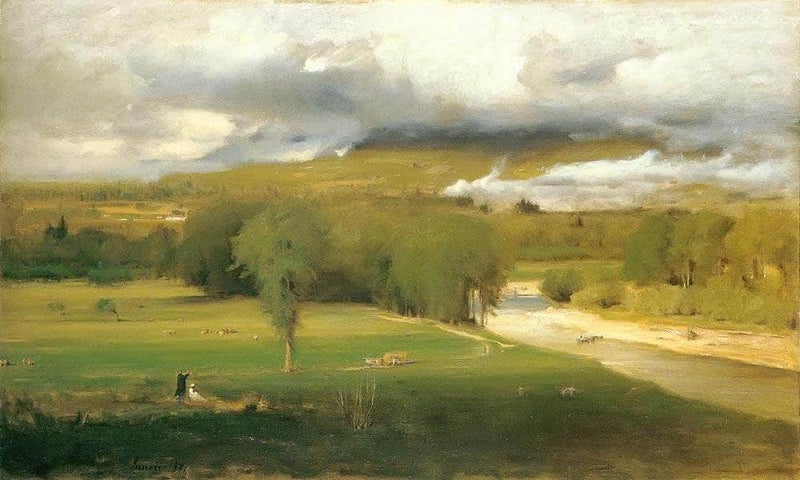 Saco Ford Conway Meadows By George Inness