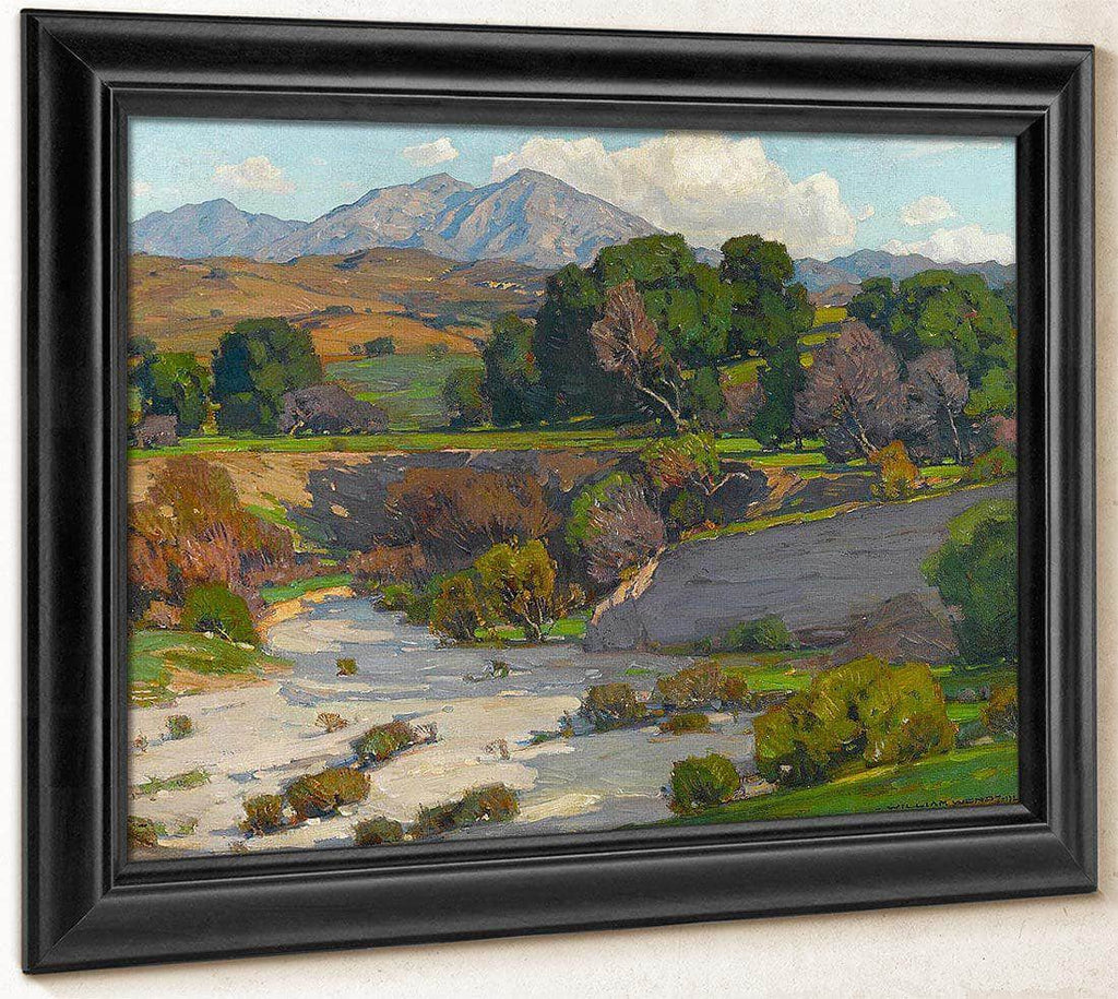 Saddleback Mountains Mission Viejo By William Wendt