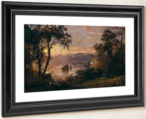 Sailing (The Hudson At Tappan Zee) By Cropsey Jasper Francis