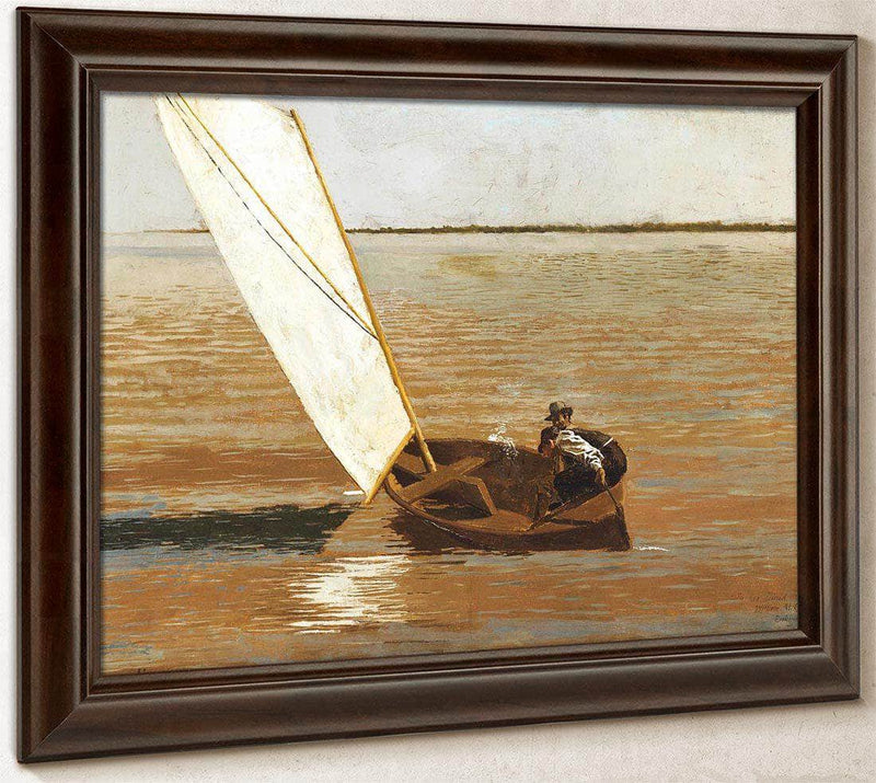 Sailing By  Eakins Thomas
