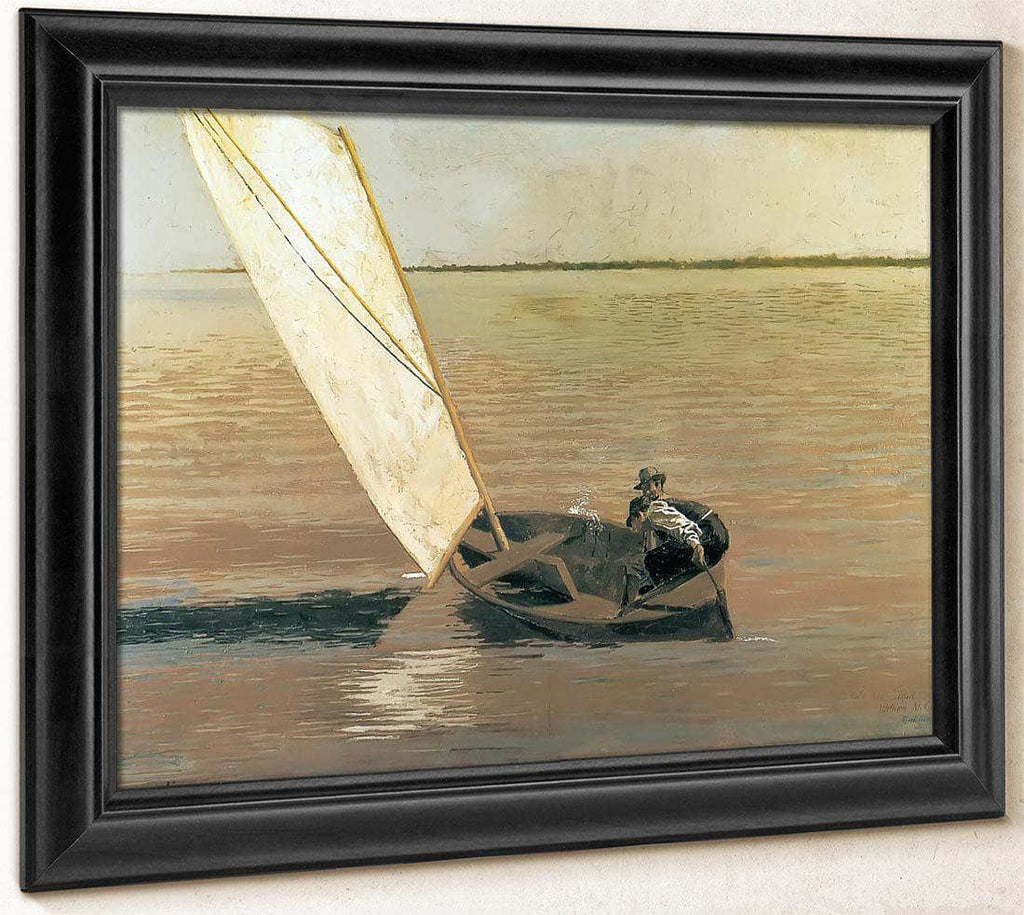 Sailing By Thomas Eakins