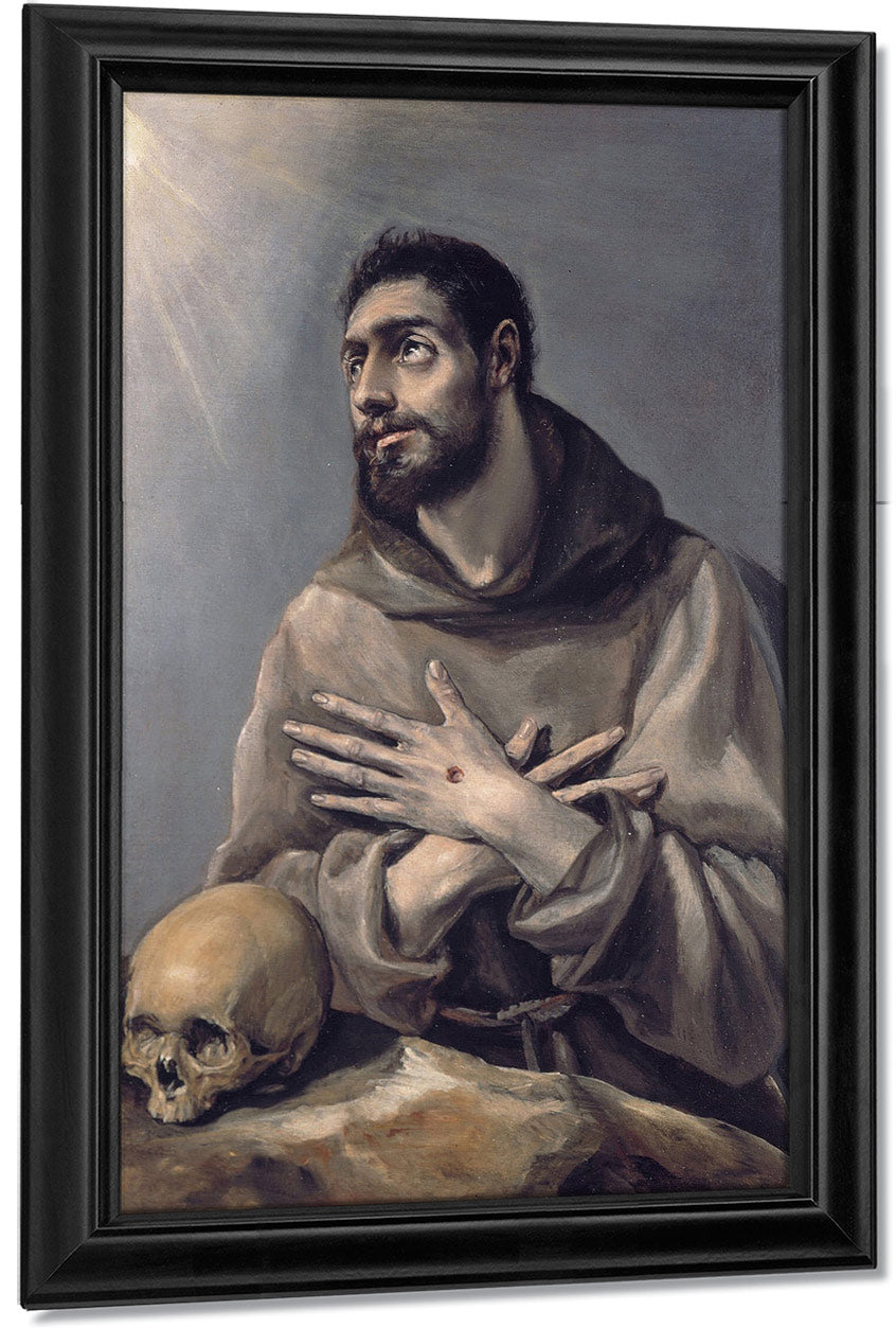 Saint Francis In Ecstasy 1580 By El Greco