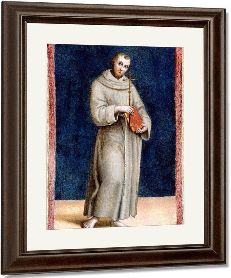 Saint Francis Of Assisi By Raphael