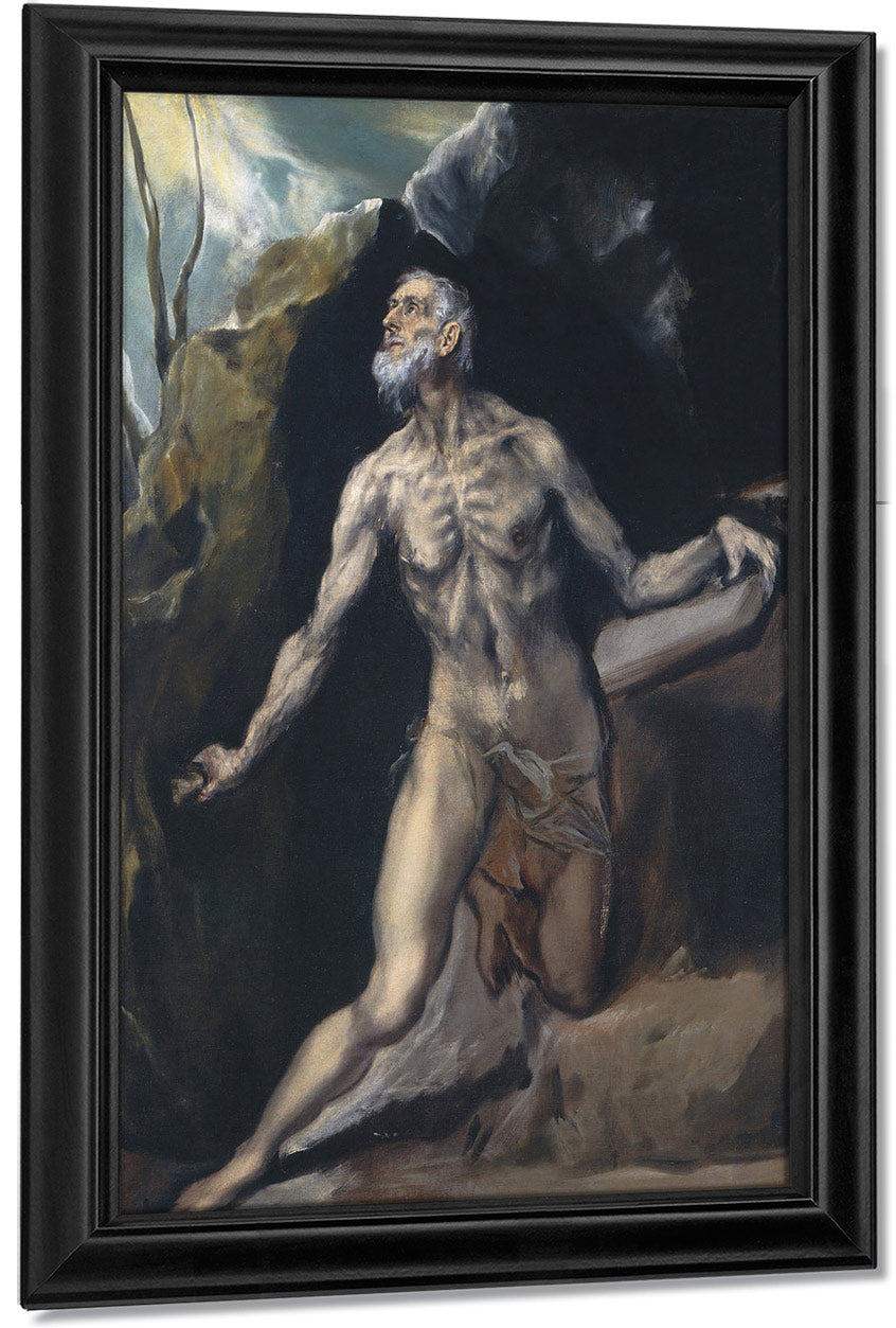 Saint Jerome By El Greco