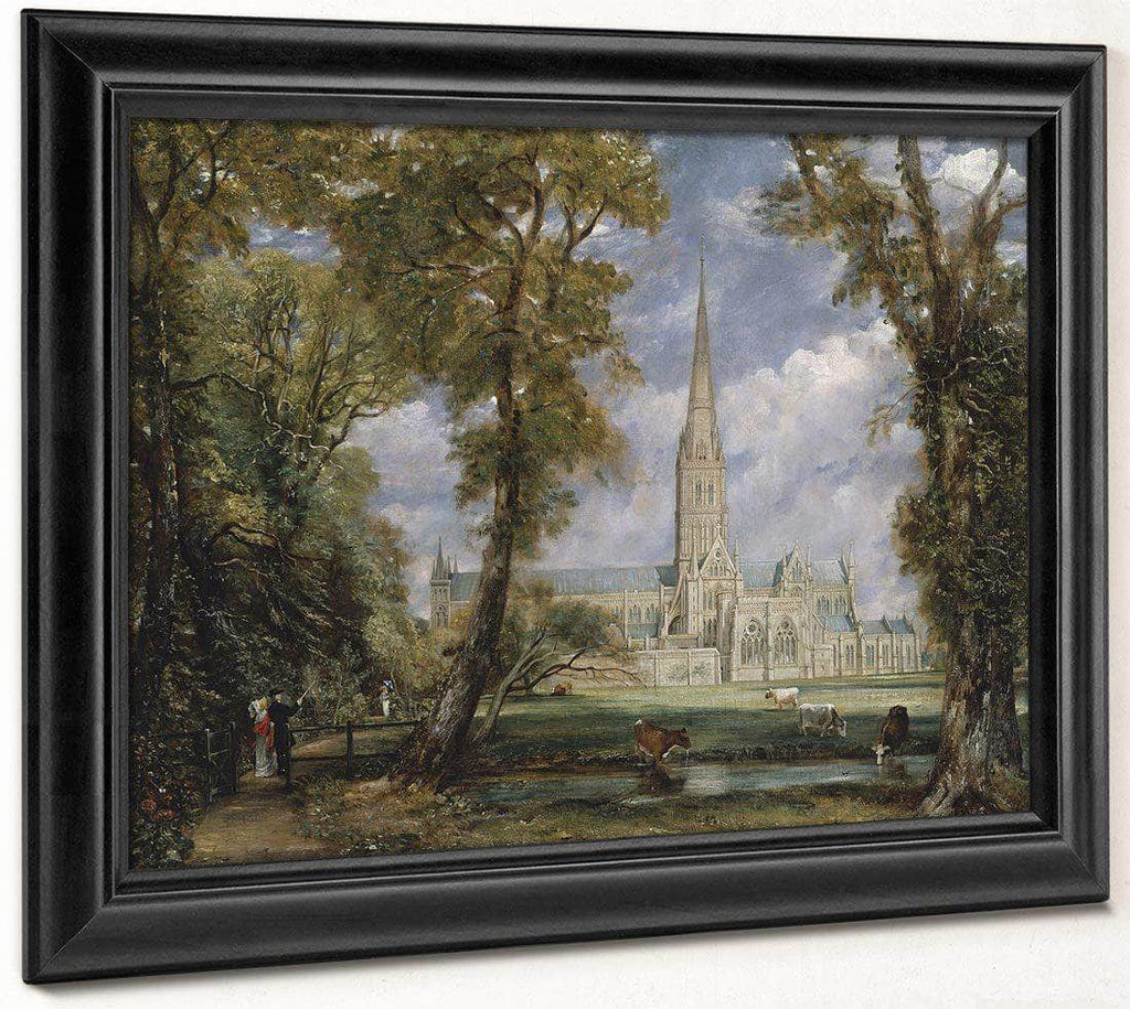 Salisbury Cathedral From The Bishops Garden John Constablescaled Down Upload Tmp By John Constable