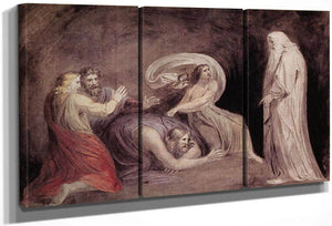 Samuel Appearing To Saul In The Presence Of The Witch Of Endor By Henry Fuseli