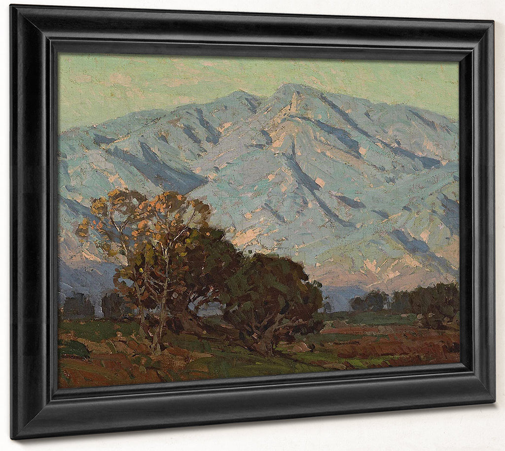 San Gabriel Mountains, 1921 By Edgar Payne
