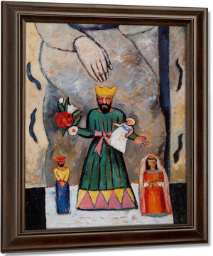 Santos New Mexico By Marsden Hartley