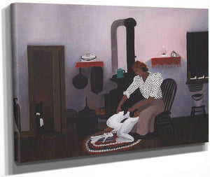 Saying Prayers By Horace Pippin