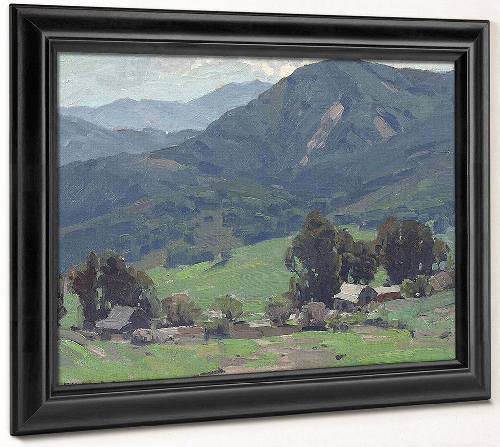 Scene Near Calabasas By Edgar Payne