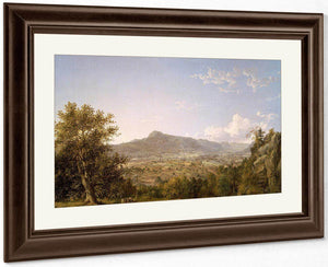 Schatacook Mountain Housatonic Valley Connecticut By Cropsey Jasper Francis