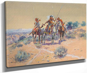 Scouting Party By Charles Marion Russell
