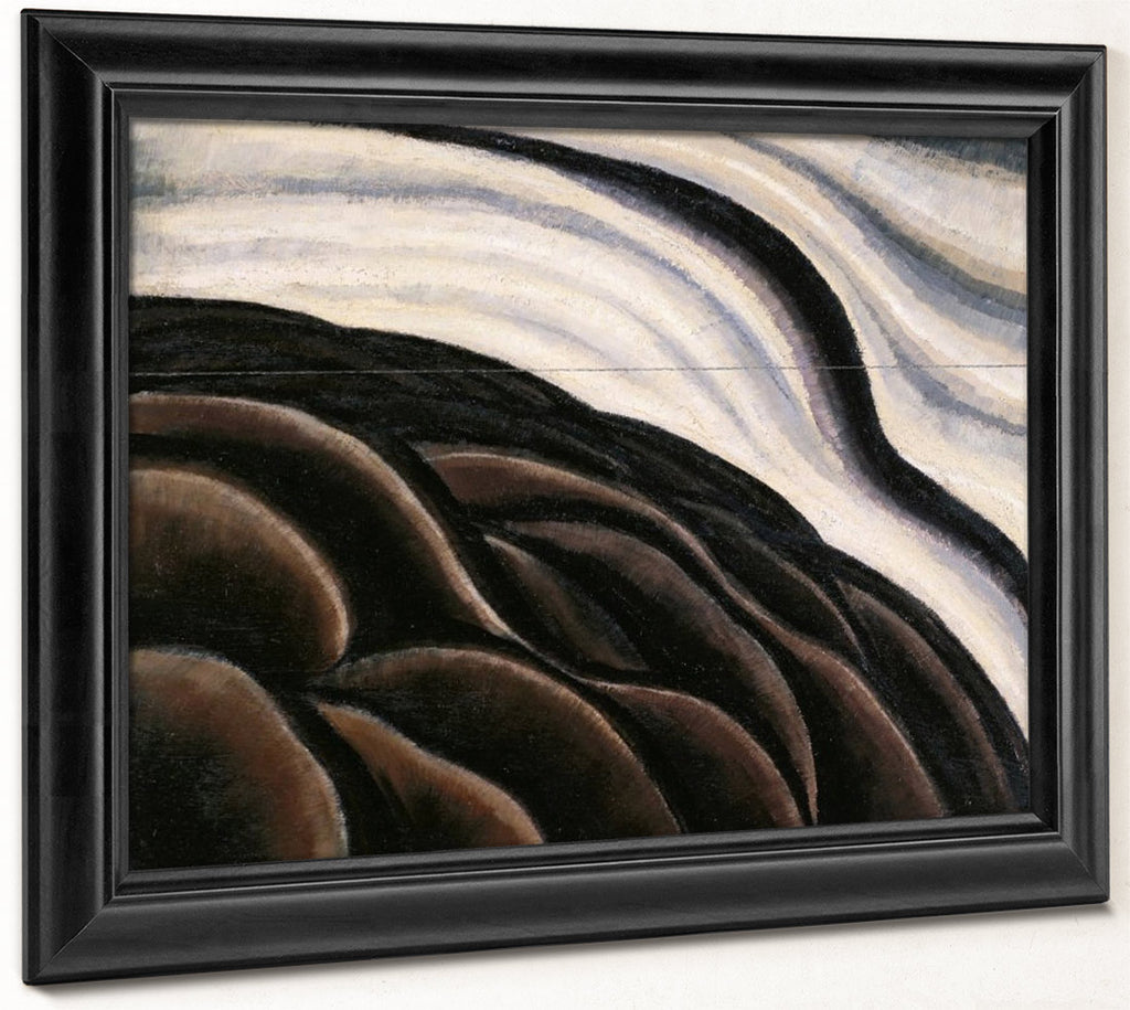 Sea Gull Motive (Sea Thunder Or The Wave) By Arthur Dove