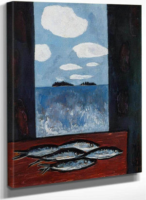 Sea Window Tinker Mackerel By Marsden Hartley