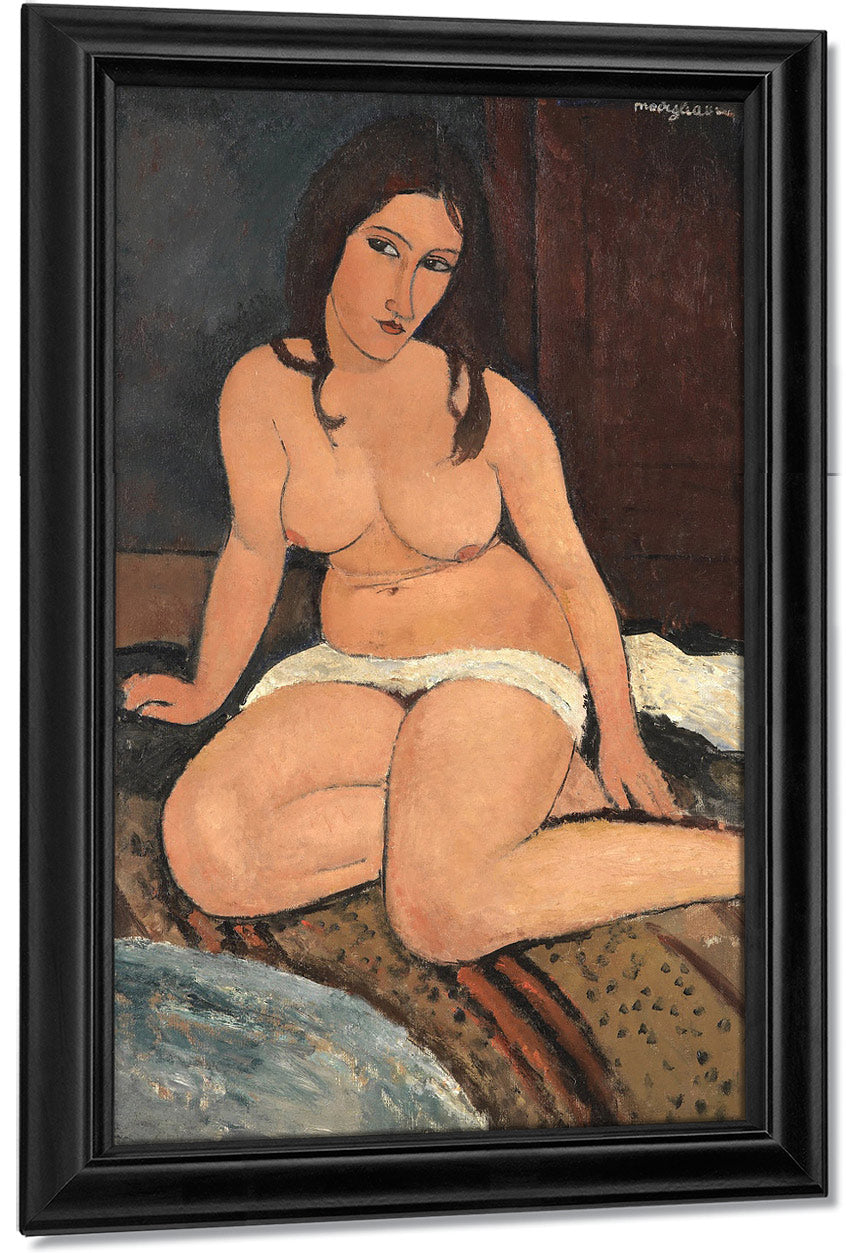 Seated Nudeb By Amedeo Modigliani