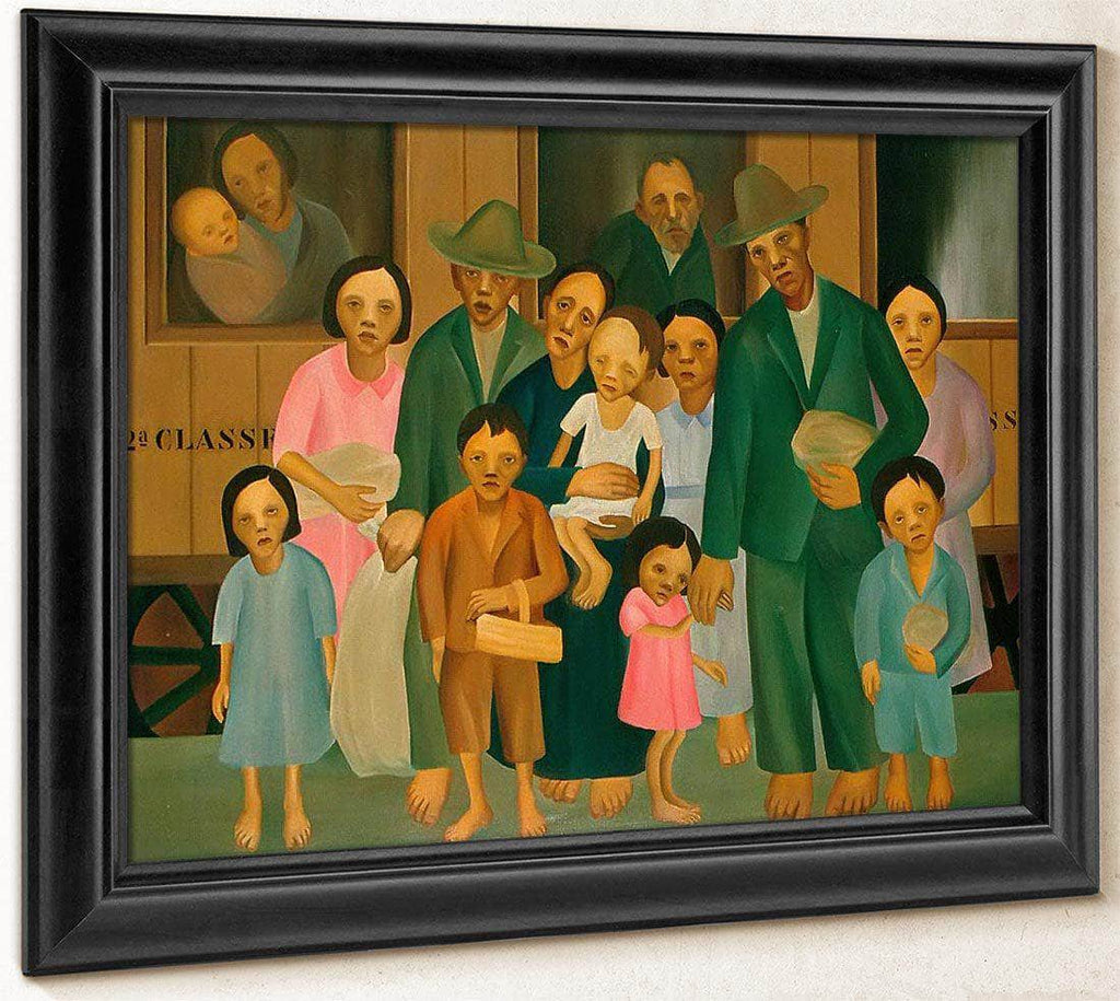 Second Class By Tarsila Do Amaral