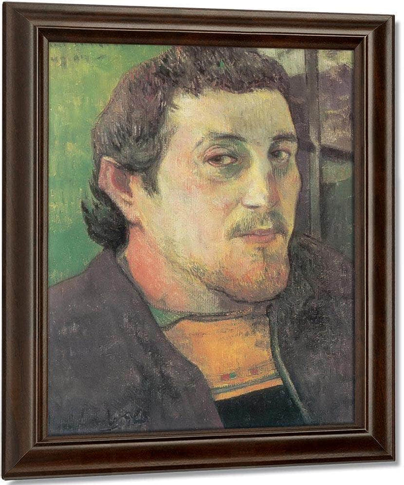 Self Portrait  To My Friend Cazziere By Paul Gauguin
