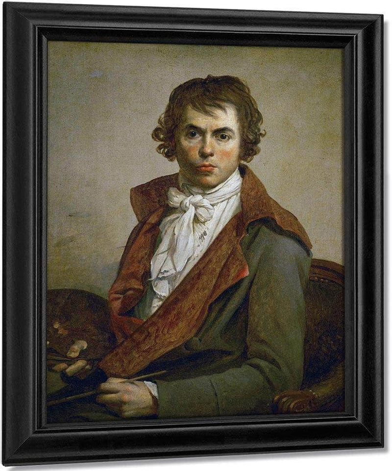 Self Portrait 1794 By Jacques Louis David