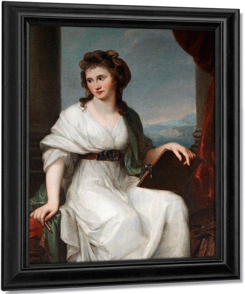 Self Portrait 1800 111 7X87Cm Cobbe Collection Cc 347 By Angelica Kauffmann