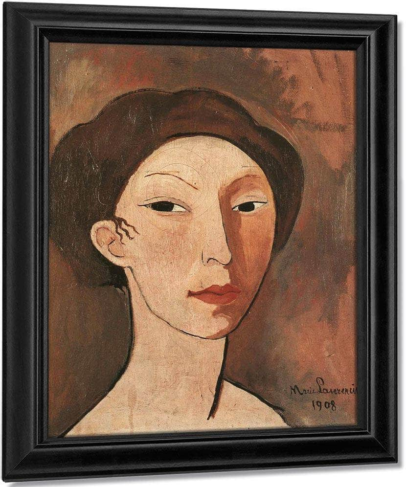 Self Portrait 1908 1908 By Marie Laurencin