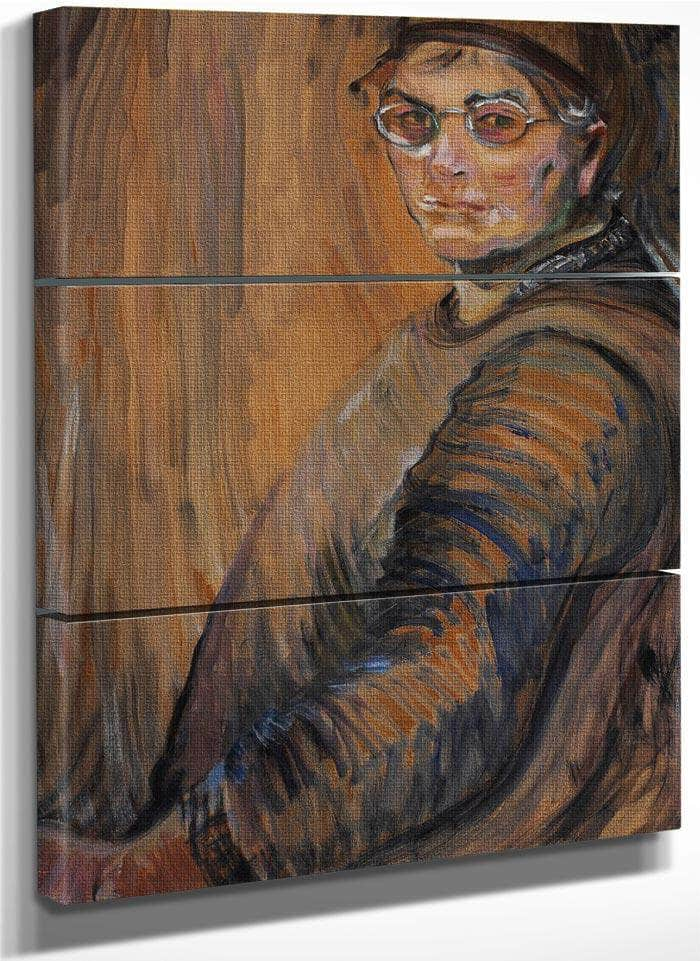 Self Portrait 1939 By Emily Carr