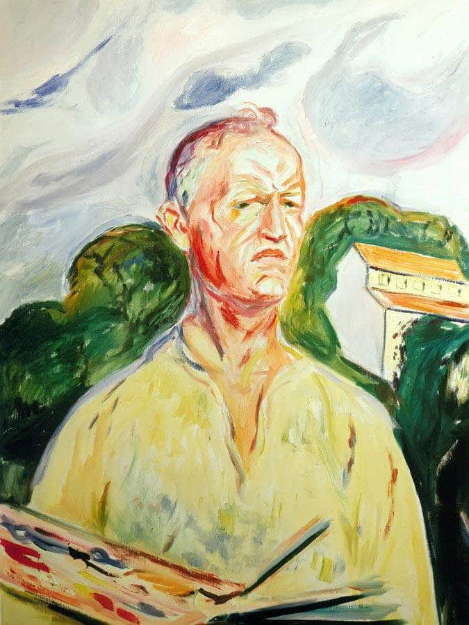 Self Portrait 2 By Edvard Munch