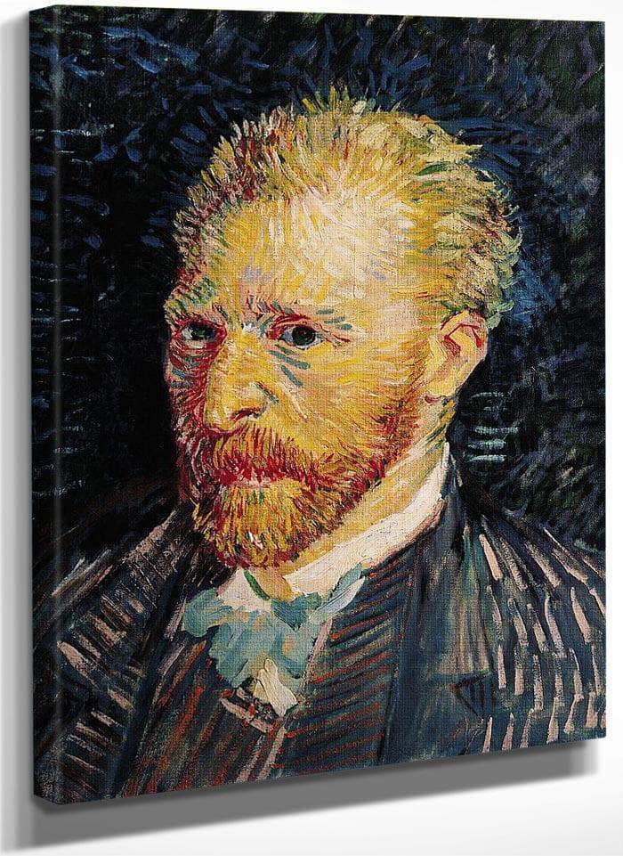 Self Portrait 3 By Vincent Van Goghb