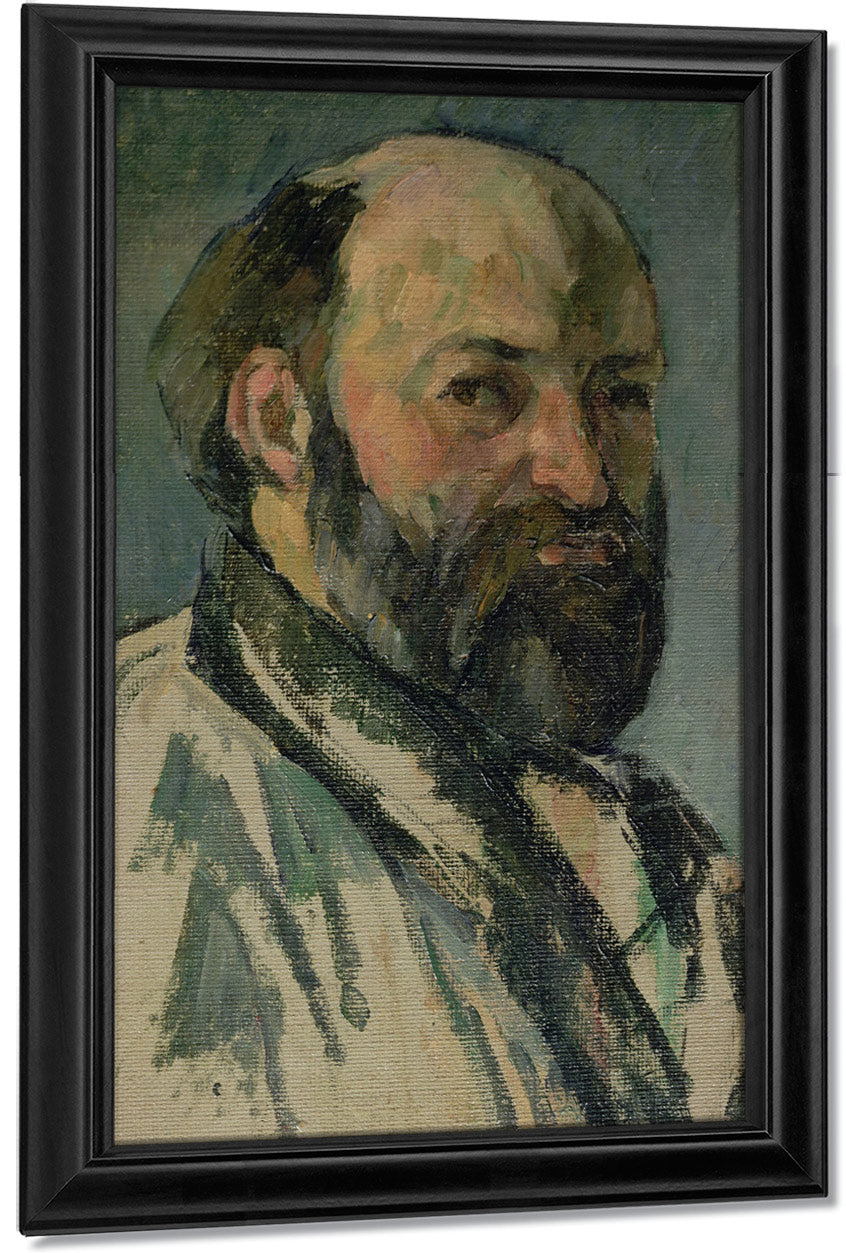 Self Portrait 4 By Paul Cezanne