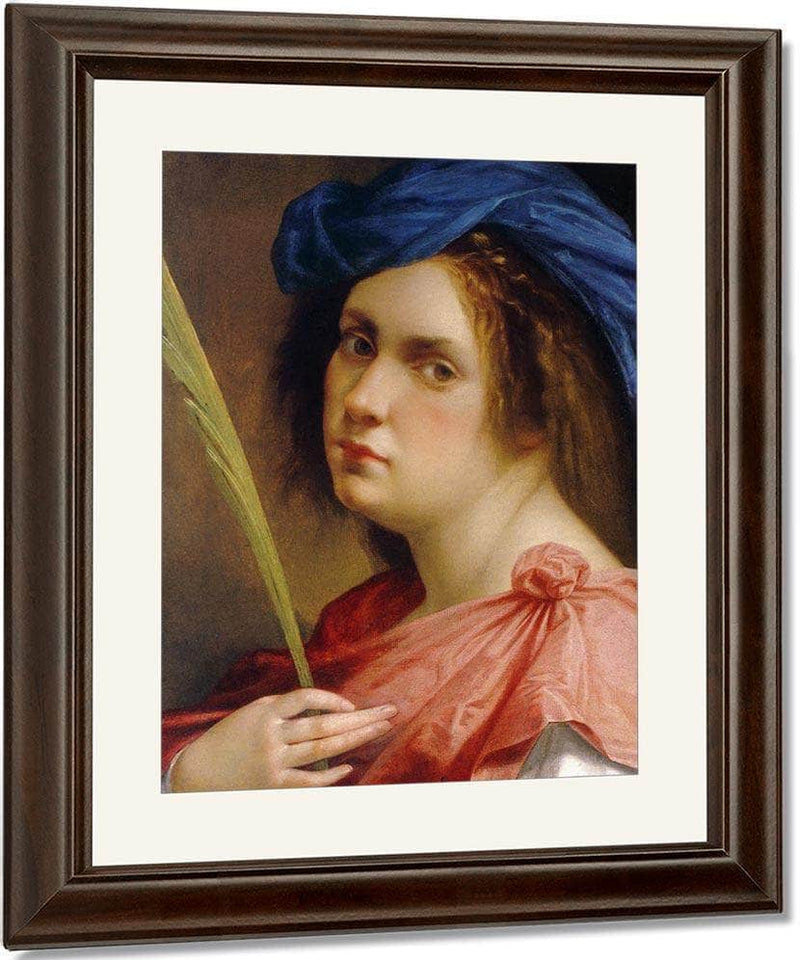 Self Portrait As A Female Martyr 1615 By Artemisia Gentileschi