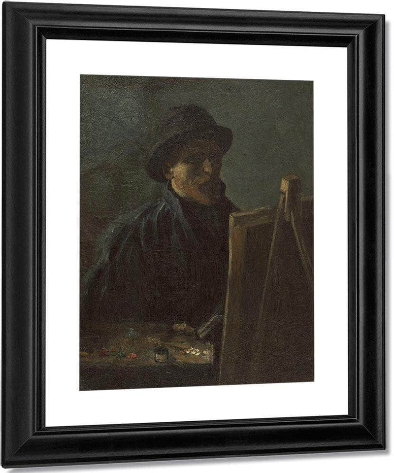 Self Portrait As A Painter Sept. 1886 Paris By Vincent Van Gogh