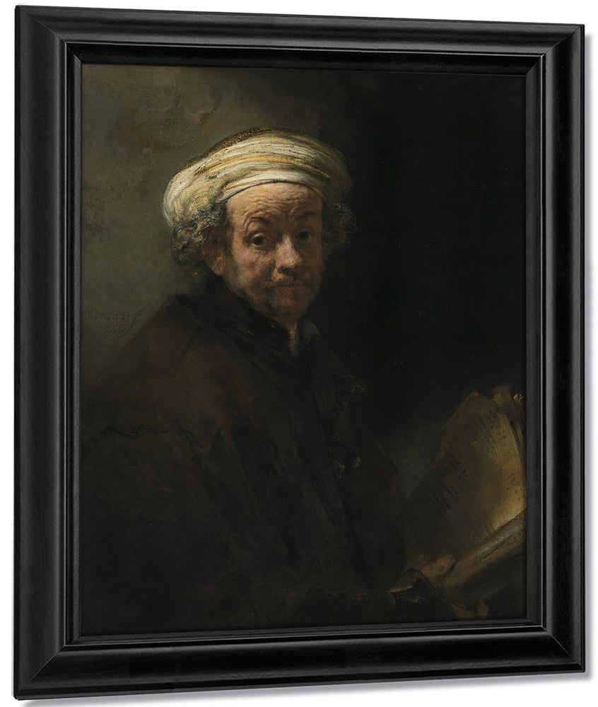 Self Portrait As The Apostle Paul By Rembrandt