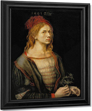 Self Portrait At Age 22 1493 By Albrecht Durer