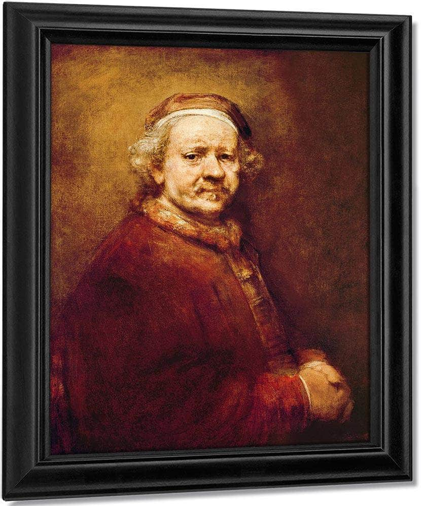 Self Portrait In At The Age Of 63 By Rembrandt