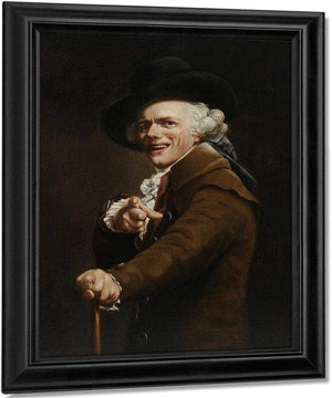Self Portrait In The Guise Of A Mockingbird 1791 By Joseph Ducreux