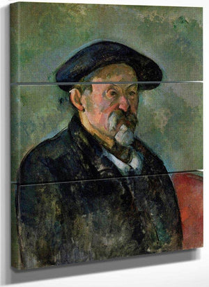 Self Portrait With Beret By Cezanne Paul