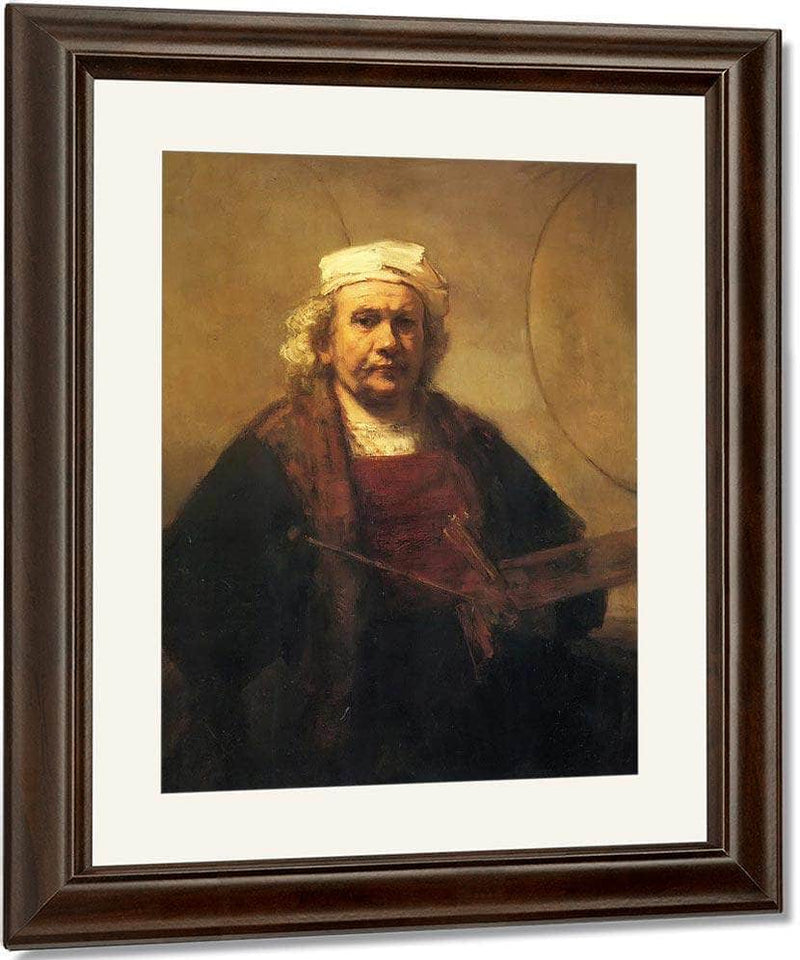 Self Portrait, 1661 By Rembrandt