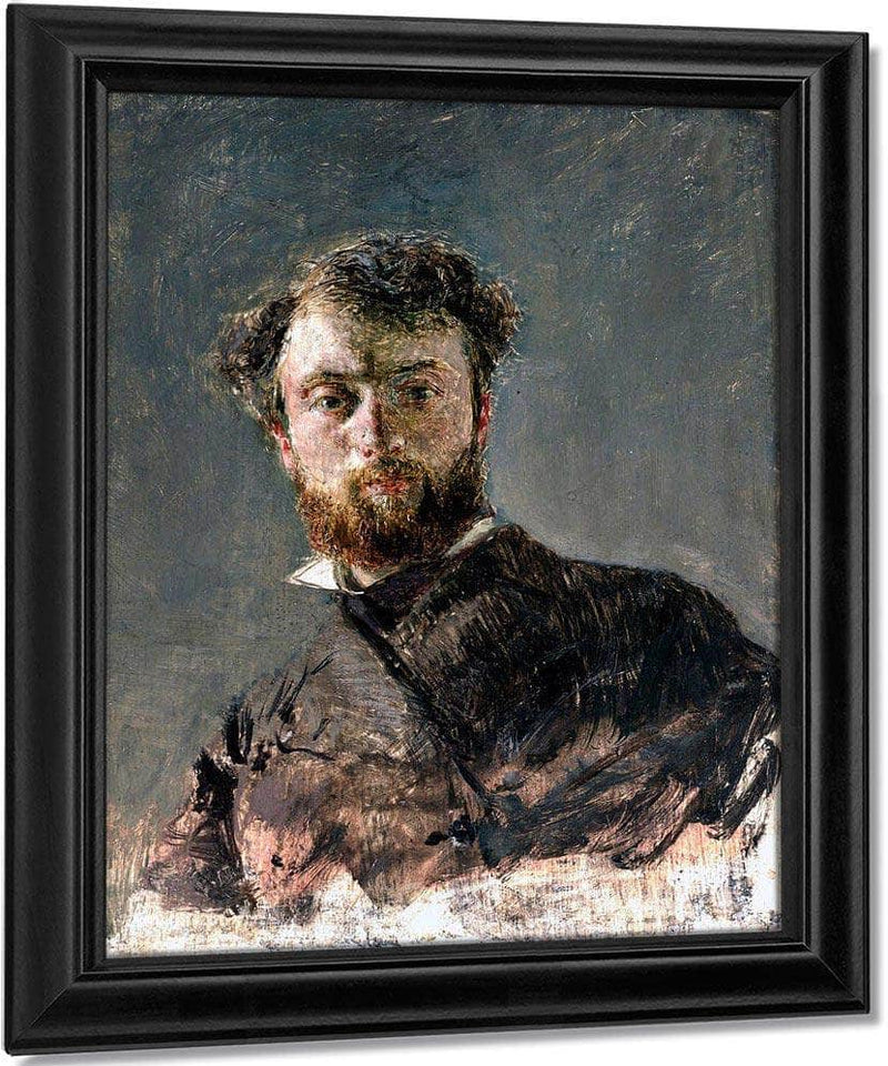 Self Portrait By Antonio Mancini
