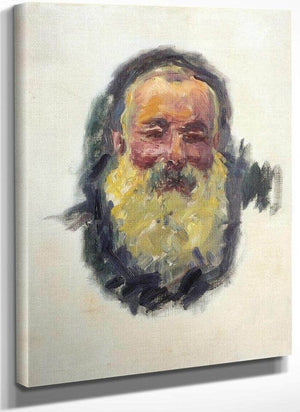 Self Portrait By Claude Monet