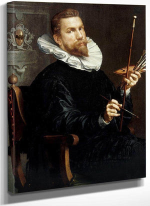 Self Portrait By Joachim Wtewael
