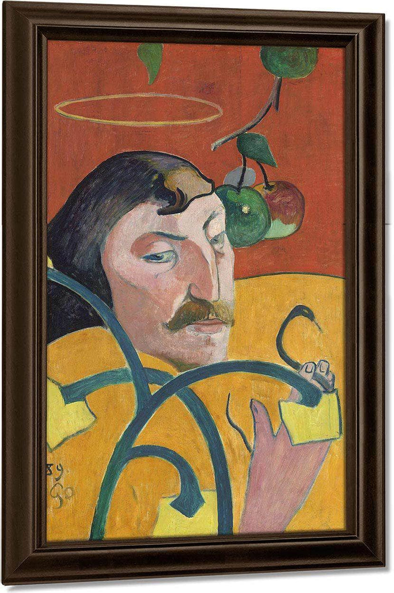 Self Portrait By Paul Gauguin