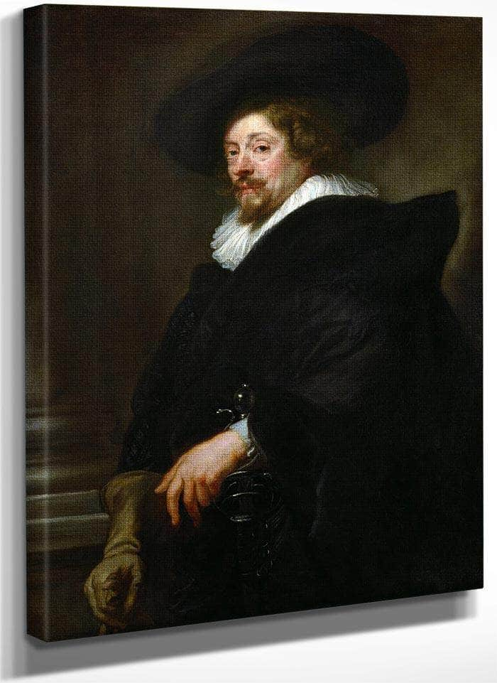 Self Portrait By Peter Paul Rubens