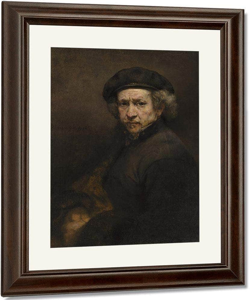 Self Portrait By Rembrandt
