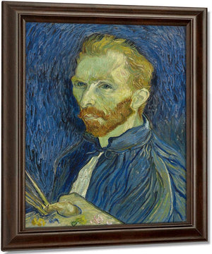 Self Portrait By Vincent Van Gogha