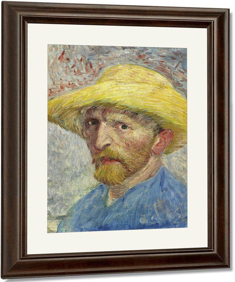 Self Portrait By Vincent Van Goghb